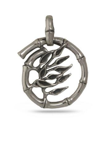 Дамски сребърен медальон 751M, ръчно изработен от Студио Николас