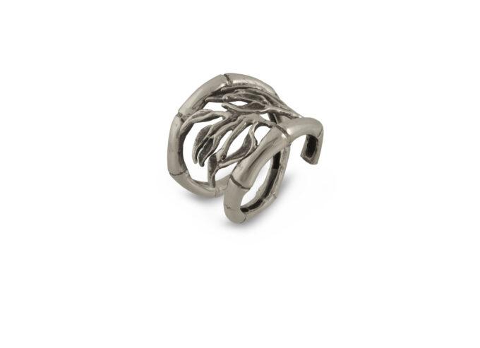 Дамски сребърен пръстен 753R, ръчна изработка отСтудио Николас