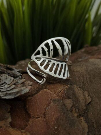 damski-model-prasten-srebro-925-otvoren-sreb-ren-pr-sten-listo-s-regulirane-760r