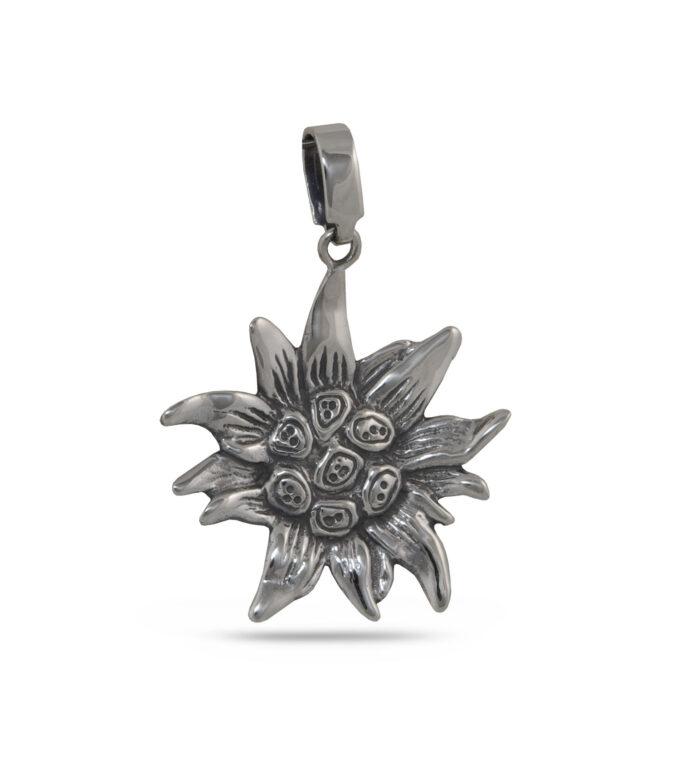 damski-srebaren-medalion-slanchogled-edelvais-cvete-879m