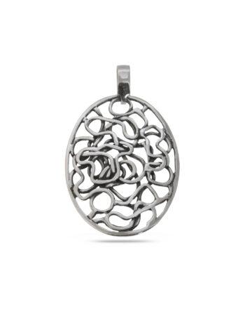 srebaren-medalion-s-krygla-forma-i-ornamenti-906m