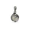 Дамски сребърен медальон 1120M, Студио Николас