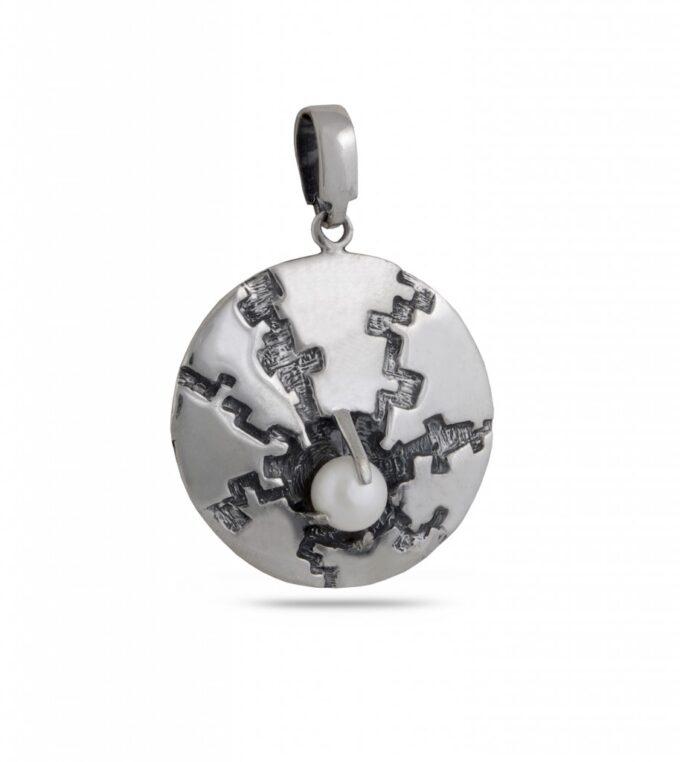 damski-srebaren-medalion-s-rechna-perla-visulka-ot-srebro-818m