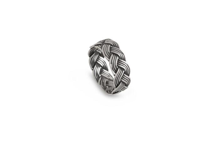 сребърен-пръстен-плитка-студио-николас-1122R