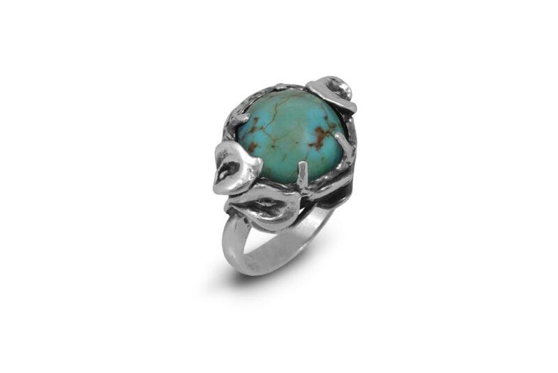 пръстен-сребро-с-тюркоаз-1178R