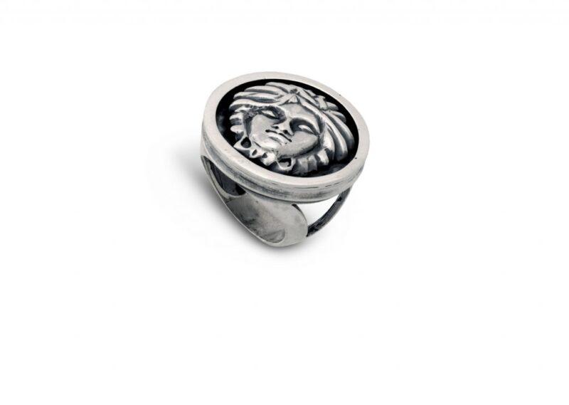 сребърен-пръстен-версаче-271R