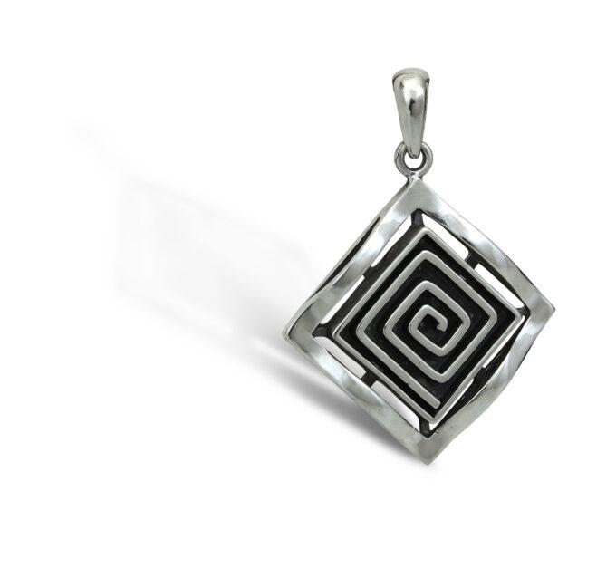 damski-srebaren-medalon-spirala-model-437m-na-studio-nikolas