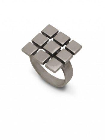 damski-srebaren-prasten-ot-mnozhestvo-kvadrati-prasten-ot-srebro-667r
