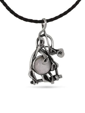 visulka-ot-stebro-s-rozov-kvarc-damski-srebaren-medalion-1204m
