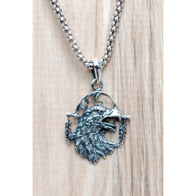 медальон-сребро-планински-орел