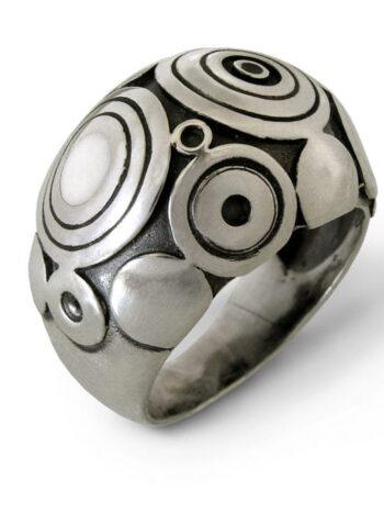 сребърен-пръстен-емайл-294R