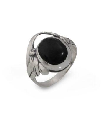 сребърен-пръстен-емайл-945R