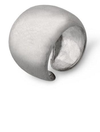 Дамски сребърен пръстен масивен и изчистен модел 204R на Студио Николас. Nikol@s е изкуствoто, с внимание към всеки детайл. Ръчна изработка, 925 пробa, сребърна красота!