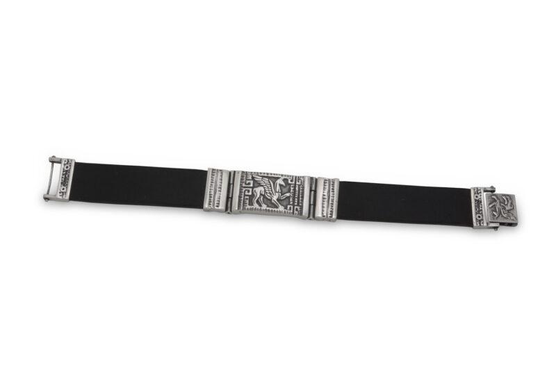 masivna-mujka-srebyrna-grivna-silikon-803b