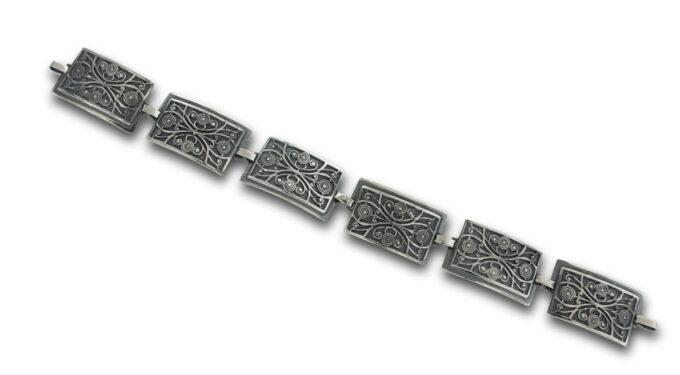 масивна-сребърна-гривна-правоъгълни-елементи-489B
