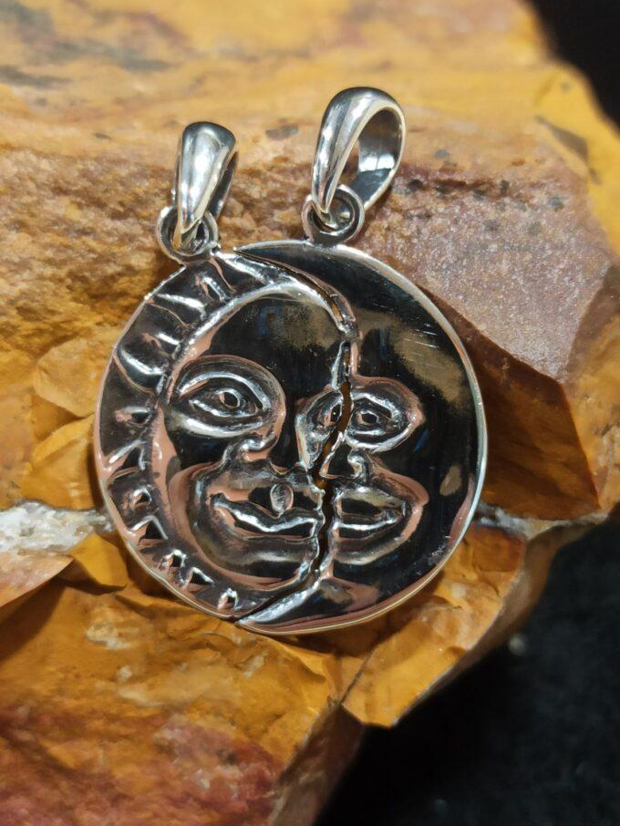 сребърен-медальон-слънце-луна-студио-николас