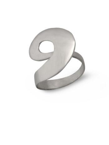 Дамски сребърен пръстен 562R