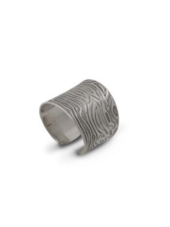 Дамски сребърен пръстен 651r, Николас