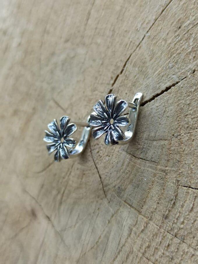дамски-сребърни-обеци-цвете-1163E-студио-николас-1