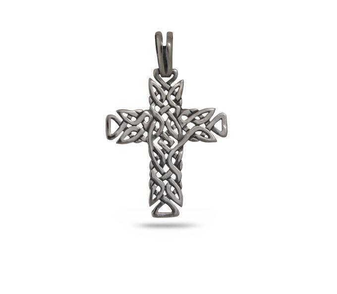 medalyoni-bez-kamyni-srebaren-kryst-s-pletenitsa-746m