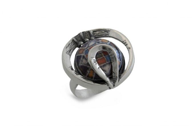 сребърен-пръстен-керамика-1047R