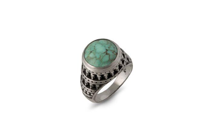 пръстен-сребро-тюркоаз-черепи-1299R