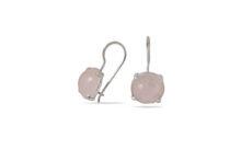 сребърни-обеци-розов-кварц-1277E