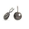 Дамски сребърни обеци модел 1274E от Студио Николас