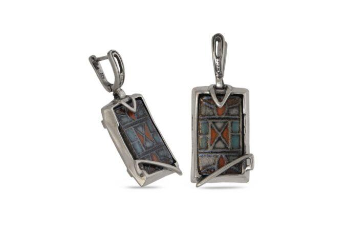 сребърни-обеци-керамика-1045E