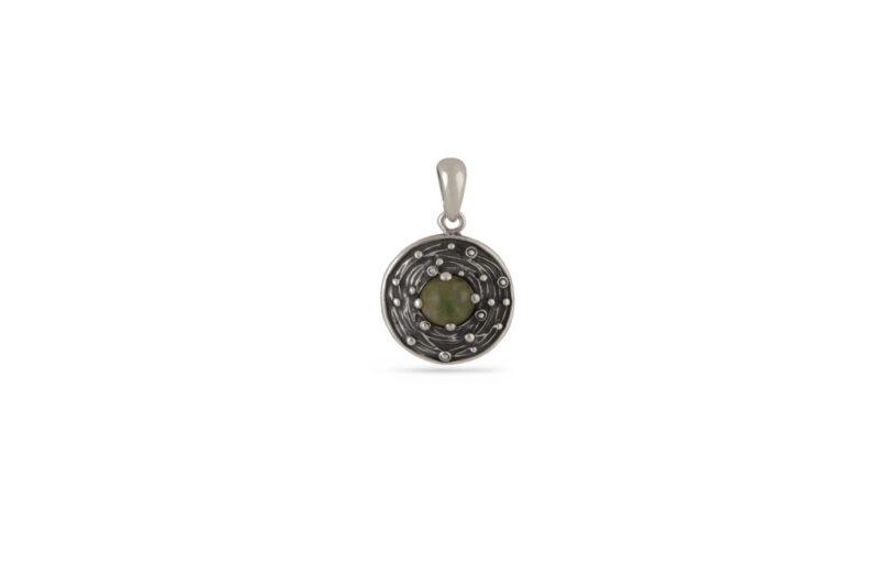 damski-srebaren-medalon-s-mahov-ahat-1268m