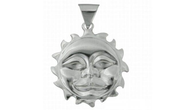 кръгъл-сребърен-медальон-сленце-337T