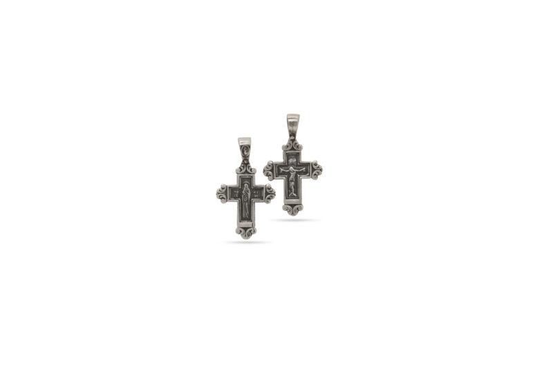 християнски-сребърен-кръст-1323M