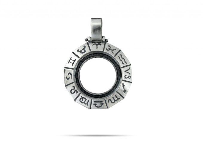 медальон-от-сребро-зодиак-336T