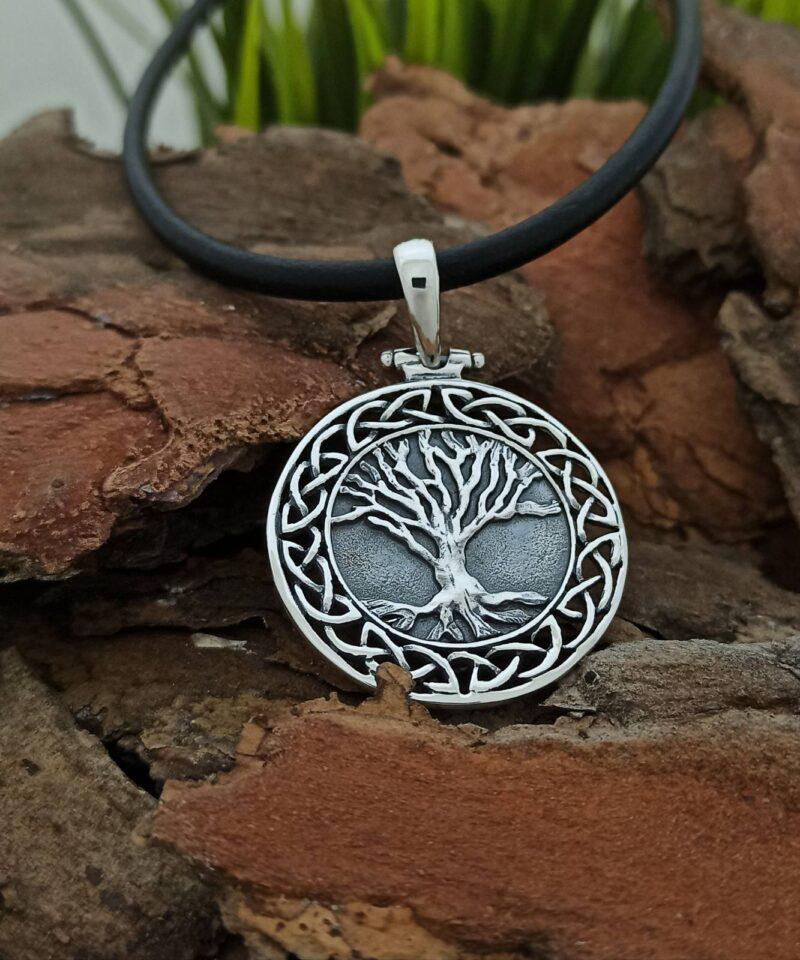 unisex-medalion-ot-srebro-dyrvoto-na-jivota-yggdrasil-1424m
