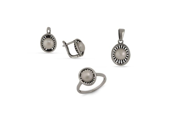 сребърен-комплект-перли-1404R-1405M-1406E