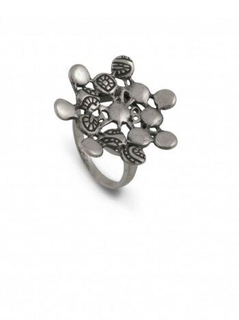Сребърен-пръстен-ДАНТЕЛА-662R