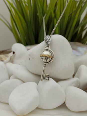 kabbalah-amulet-srebro-zlato-kluch-arhangel-gavrail-1460mg