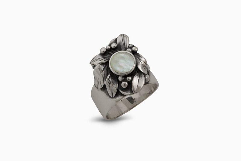 masiven-prysten-srebro-sedef-1351R