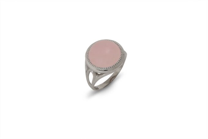 srebyren-prysten-rozov-kvarc-1376R