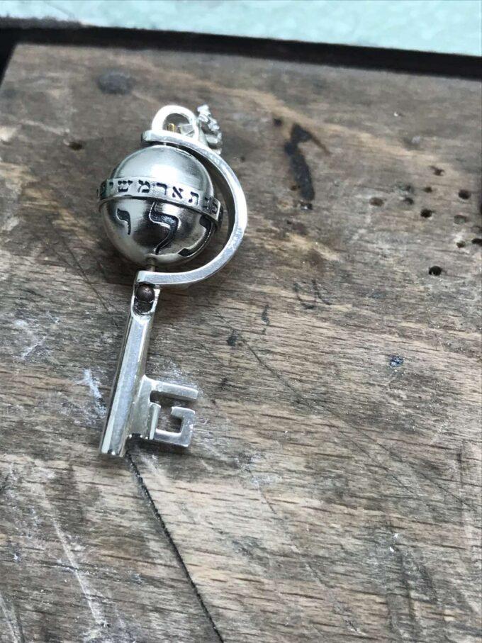 кабала-пендатив-сребро-ключ-1460m