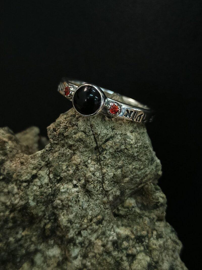 кабала-сребърен-пръстен-годежен-модел-николас