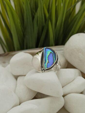 дамски-сребърен-пръстен-с-океански-абалон-николас