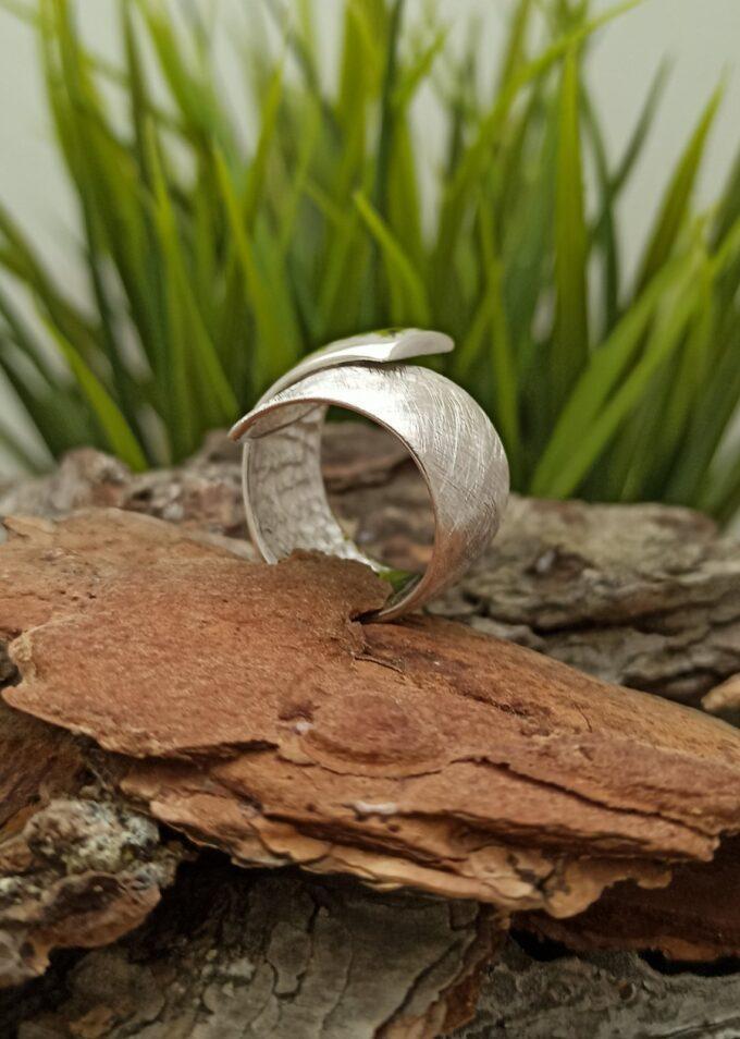 Сребърен пръстен 550R Студио Николас Български производител на сребърна бижутерия
