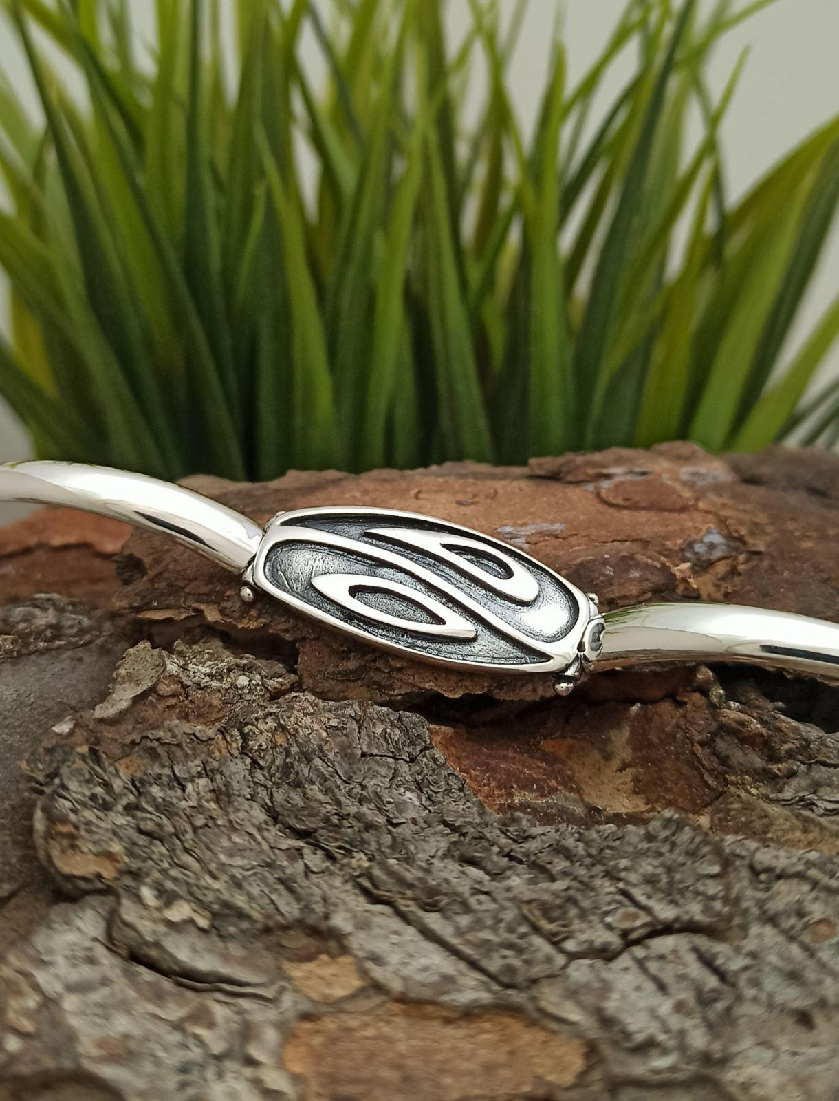 Дамска сребърна гривна ИН-ЯН 299B Студио Николас ще се почувствате участници в кръговрата на живота с внимание към всеки детайл сребро 925