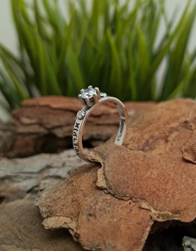 KABBALAH-сребърен-пръстен-прецизно-и-ръчно-изработен-от-стърлингово-сребро-925-и-монтиран-бял-циркон-в-средата-Студио-Николас