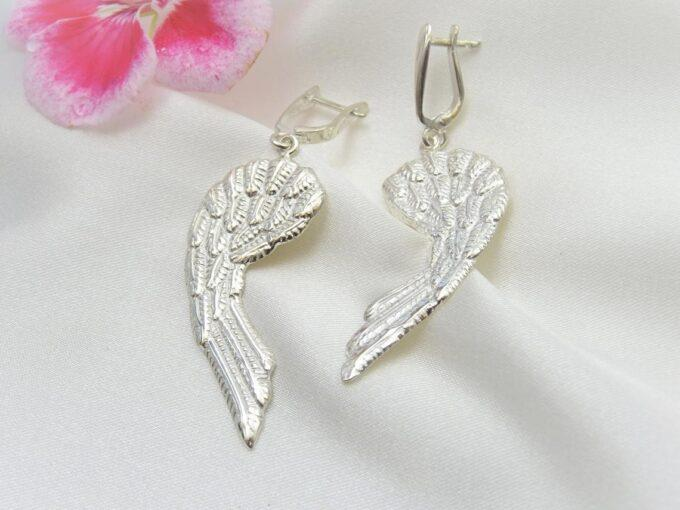 дамски-сребърни-обеци-крило-на-ангел-сребро-с-родиево-покритие-фабрика-за-бижутерия-студио-николас.
