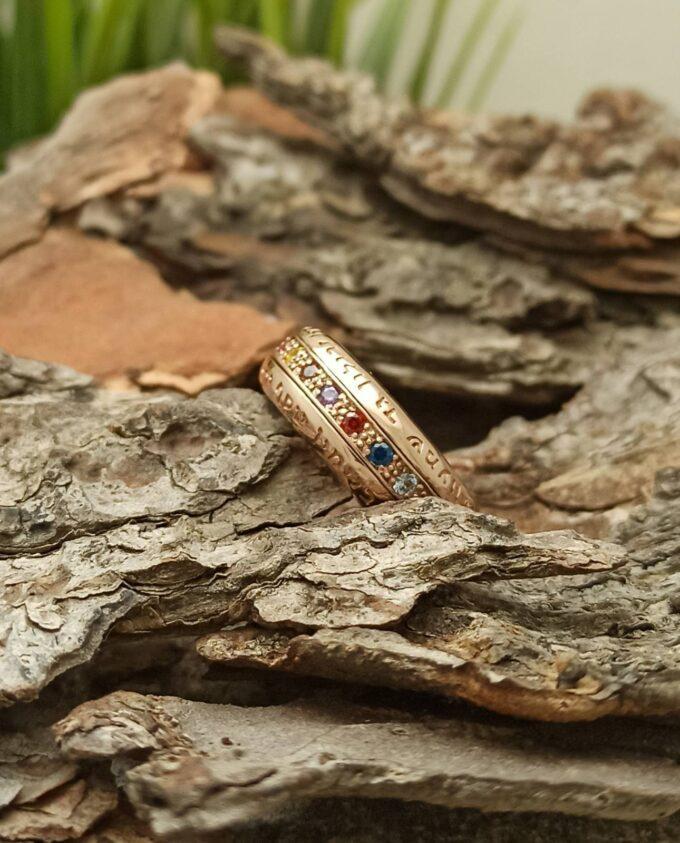 kabala-srebaren-prasten-amulet-12-kamaka-hoshen-rosegold-rodievo-pokritie-studio-nikolas